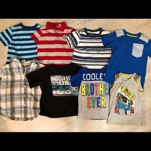 Other - 4T shirt bundle - 8 pieces